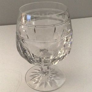 Wedgwood Monarch Crystal Cut/Etched Brandy Snifter